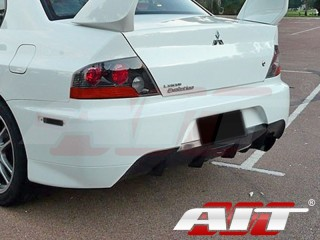 MR Style Rear Bumper Cover For Mitsubishi Evolution 2003-2007