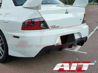MR Style Rear Bumper Cover For Mitsubishi Evolution 2003-2007