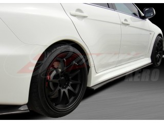 XRS Series Ver.2 Carbon Fiber side add-on For Mitsubishi Evolution 2008-2014