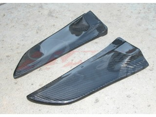 XRS Series Carbon Fiber rear add-on For Mitsubishi Evolution 2008-2014