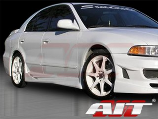VIR-2 Style Side Skirts For Mitsubishi Galant 1999-2003