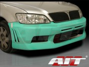 EVO7 Style Front Bumper Cover For Mitsubishi Lancer 2002-2003
