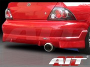 FF2 Style Rear Bumper Cover For Mitsubishi Lancer 2002-2003