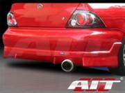 FF2 Style Rear Bumper Cover For Mitsubishi Lancer 2002-2003
