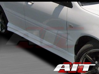 FF2 Style Side Skirts For Mitsubishi Lancer 2002-2007