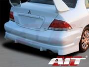 FF2 Style Rear Bumper Cover For Mitsubishi Lancer 2004-2006