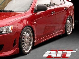 C-Weapon Style Side Skirts For Mitsubishi Lancer 2007-2013