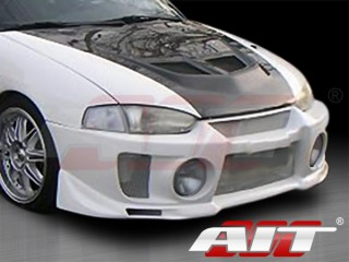 EVO V Style Front Bumper Cover For Mitsubishi Mirage 1997-2001 Coupe