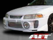 EVO V Style Front Bumper Cover For Mitsubishi Mirage 1997-2001 Sedan