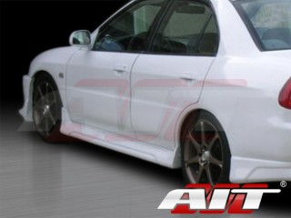 EVO V Style Side Skirts For Mitsubishi Mirage 1997-2001 Sedan