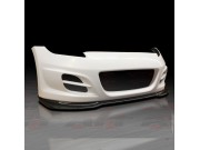 ZTS Style Front Bumper with carbon fiber lip For 2009-2014 Nissan 370Z
