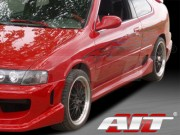 Drift Style Side Skirts For Nissan 200sx 1995-1998