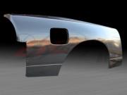 50mm Wider Quarter Panels For Nissan 240sx 1989-1993 Hatchback Only