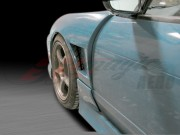 30mm D2 Series Wider Front Fenders For Nissan 240sx 1989-1993