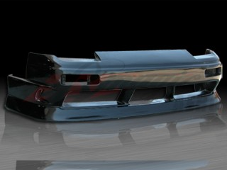 type-X Style Front Bumper Cover For Nissan 240sx 1989-1993