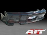 D1 Style Rear Bumper Cover For Nissan 240sx 1989-1993 Coupe Only