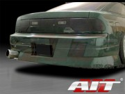 M4 Style Rear Bumper  For Nissan 240sx 1989-1993 Coupe Only