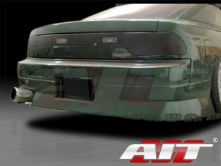 M4 Style Rear Bumper  For Nissan 240sx 1989-1993 Hatchback Only