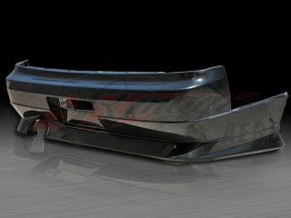 D1 Series Rear Bumper Cover For Nissan 240sx 1995-1998