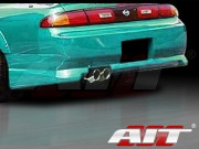 Charger Style Rear Bumper Cover For Nissan 240sx 1995-1998