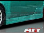 Charger Style Side Skirts For Nissan 240sx 1995-1998