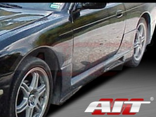 R33 Style Side Skirts For Nissan 240sx 1995-1998