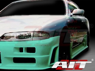 Sky Style Side Skirts For Nissan 240sx 1995-1998