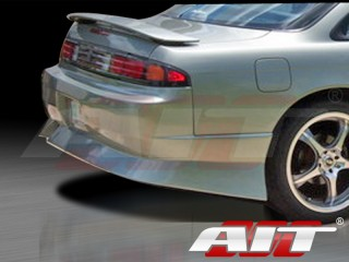 M4 Style Rear Bumper Cover For Nissan 240sx 1995-1998