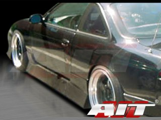 M4 Style Side Skirts For Nissan 240sx 1995-1998