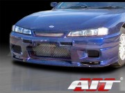 R33 Style Front Bumper Cover For Nissan 240sx 1997-1998