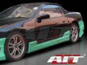 CW Style Side Skirts For Nissan 300zx 1990-1997