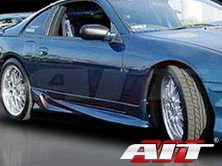 VS Style Side Skirts For Nissan 300zx 1990-1997