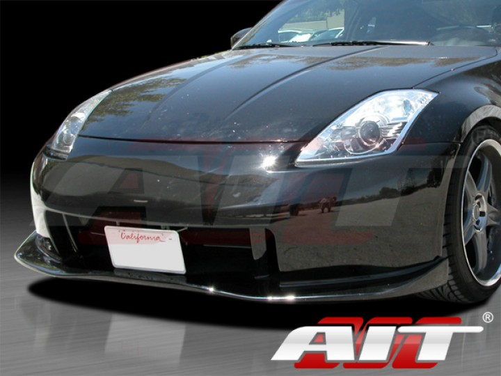 Nismo 3 Style Front Bumper Cover For Nissan 350z 2003 2008