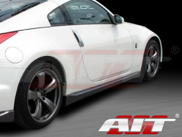 Nismo 3 Style Side Skirts For Nissan 350z 2003 2008
