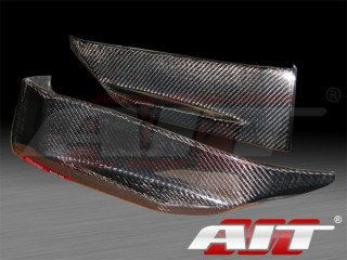 Nismo Style carbon fiber rear add-on skirts For Nissan 350z 2003-2008