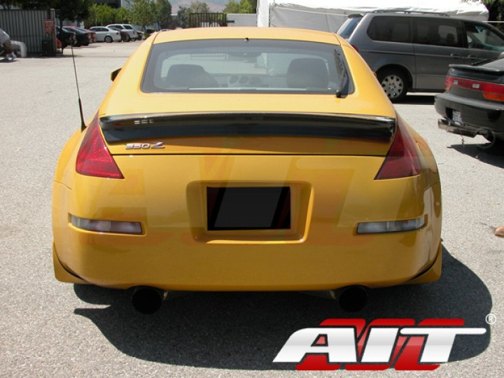 Carbon Fiber Rear Spoiler For Nissan 350z 2003 2008