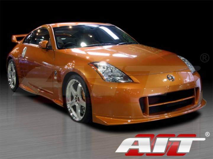 Nismo 2 Style Front Bumper Cover For Nissan 350z 2003 2008