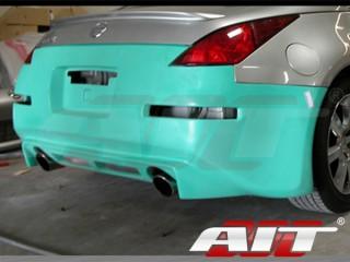 VS-2 Style Rear Bumper Cover For Nissan 350z 2003-2008