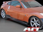 VS-2 Style Side Skirts For Nissan 350z 2003-2008