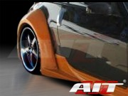 VS-3 Style rear fender flares For Nissan 350z 2003-2008