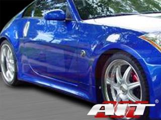 VTX Style Side Skirts For Nissan 350z 2003-2008