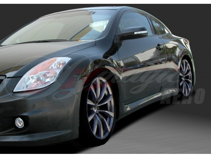 Imp Style Side Skirts For 2008 2012 Nissan Altima Coupe