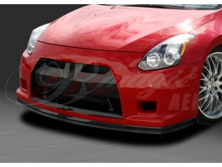 GT-R Concept Series Front Bumper with Carbon Fiber Lip For Nissan Altima 2010-2012 Coupe