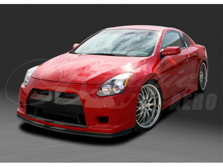 gt r concept series front bumper with fiberglass lip for nissan altima 2010 2012 coupe