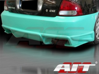 BMX Style Rear Bumper Cover For Nissan Sentra 2000-2003