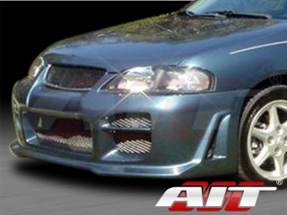 R34 Style Front Bumper Cover For Nissan Sentra 2000-2003