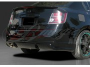 Pulse Style Rear Bumper Cover For Nissan Sentra 2007-2012