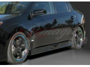 Pulse Style Side Skirts For Nissan Sentra 2007-2012
