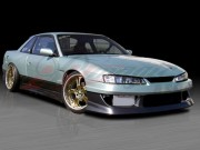S13.4 Front End Conversion Fenders With Brackets For Nissan 240sx 1989-1993