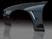D1 Series wide Front Fenders For 1989-1993 Nissan S13 Silvia